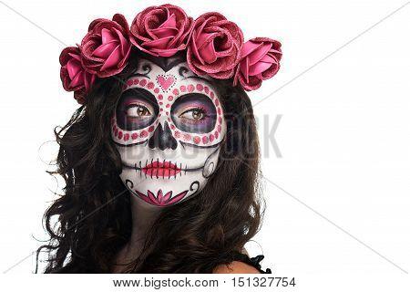 Catrina Skull Makeup