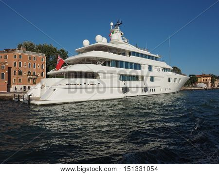 Lady S Yatch In Venice