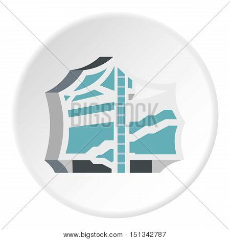 Kimchi, korean food icon. Flat illustration of korean food vector icon for web design