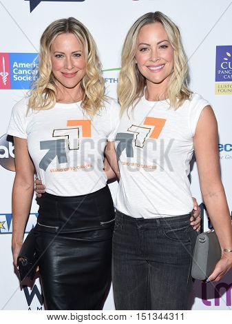 LOS ANGELES - SEP 09:  Brittany Daniel and Cynthia Daniel arrives to the Stand Up To Cancer 2016 on September 09, 2016 in Hollywood, CA