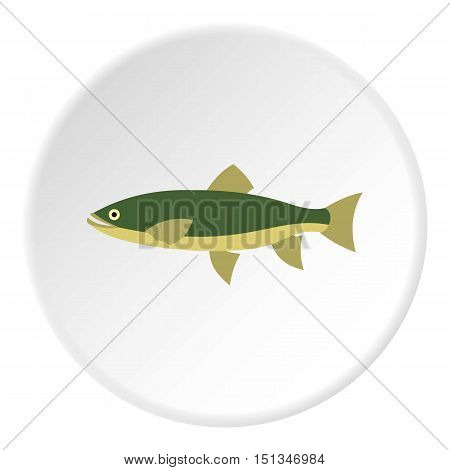 Smelt icon. Flat illustration of smelt vector icon for web