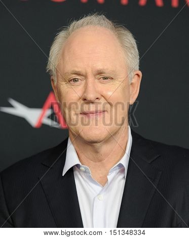 LOS ANGELES - OCT 10:  John Lithgow arrives to