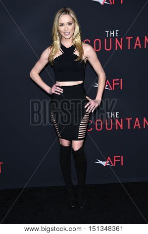 LOS ANGELES - OCT 10:  Greer Grammer arrives to