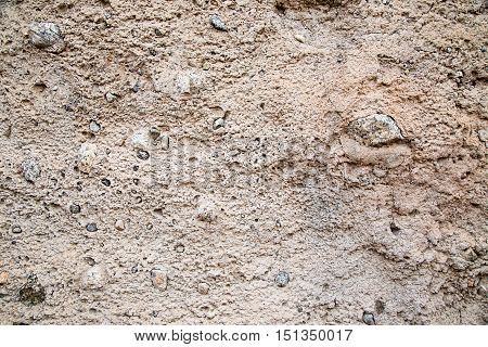 Authentic old adobe wall makes great background texture