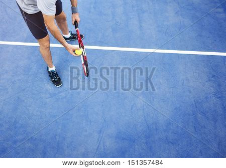 Tennis Sport Racket  Athlete Match Concept