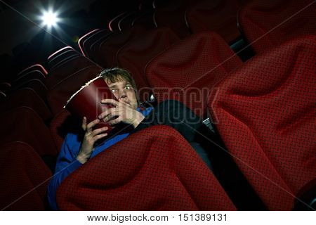 Terrified by the film