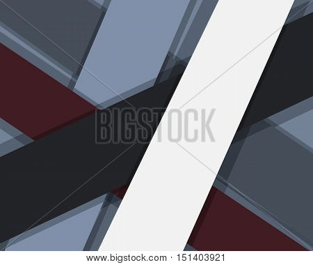 Flat Abstract Modern Material Design Vector Business Dark Foggy Forest