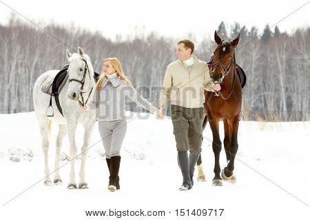 Couple of horsemen