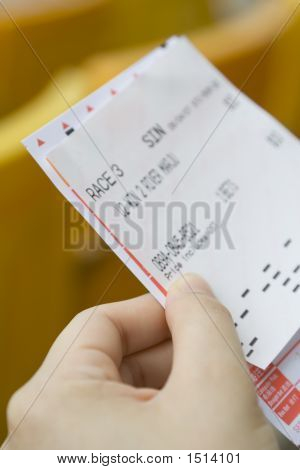 Bet Slip For Horse Racing