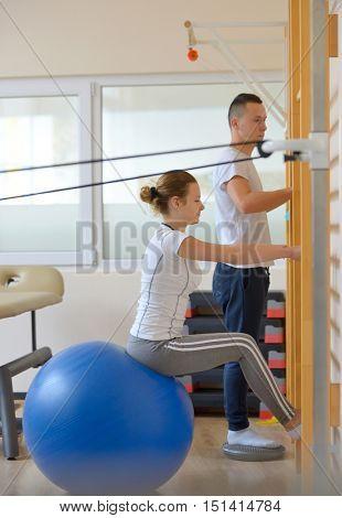 elongation treatment of low back pains