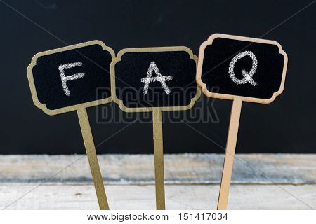 Business Message Faq As Frequently Asked Questions