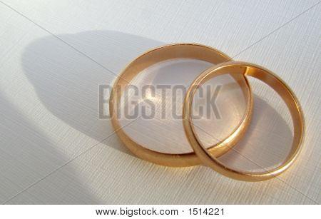 Wedding Gold Rings 1