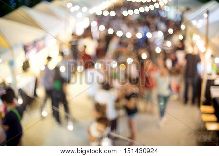 Outdoor Walking Market Place