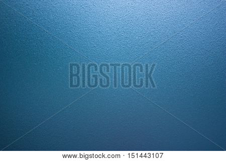 Blue Rough Frosted Glass Wall Background with gradient