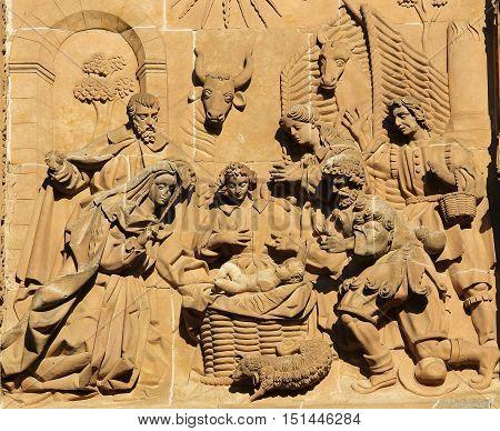 New Cathedral Of Salamanca - Nativity Scene