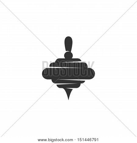 Whirligig Icon isolated on a white background. Whirligig Logo design vector template. Simple Logotype concept icon. Symbol, sign, pictogram, illustration - stock vector