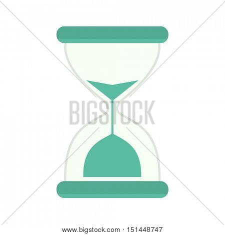 sandglass icon Vector Illustration isolated on white background.