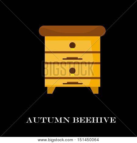 Apiary Honey Bee House  Vector Illustrations. , ,  , Honeycomb.