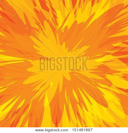 Colorful Supernova Blast Background