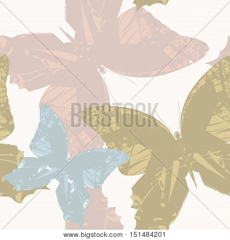 Stylish Seamless Pattern with stylish Butterfly's. Stylish texture with flowers and cute backgrounds for linen, tile ,design fabric, textile and more creative designs.