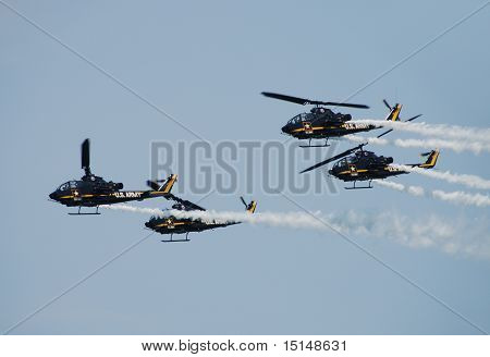 Us Army Helicopter Demo Team
