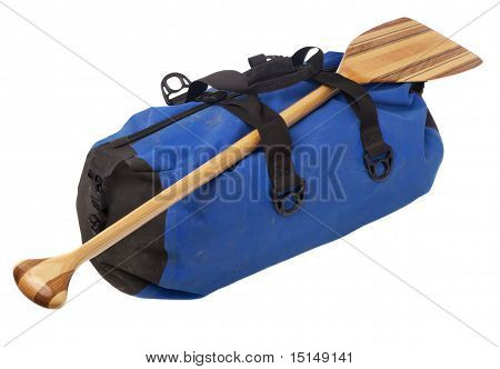 Canoe Paddle And Waterproof Duffel