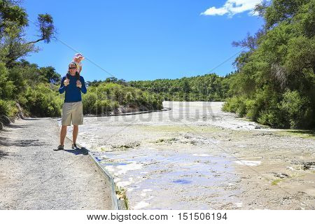 The Wai-o-tapu Thermal Area, New Zealand