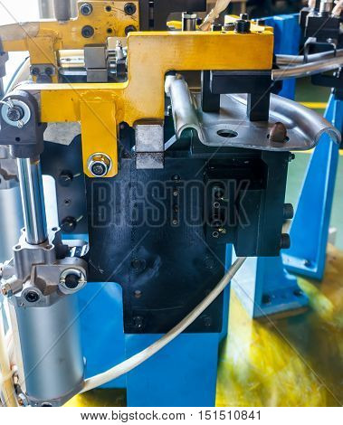 Jigs work welding in the automotive industry