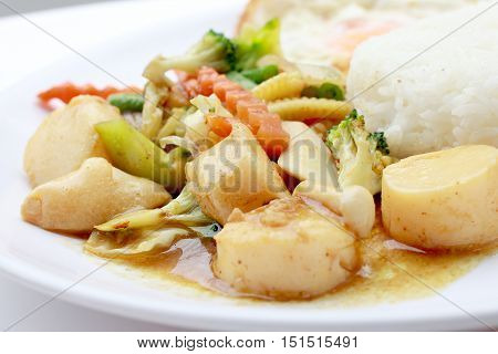 Stir Fried Tofu In Chinese Style,deep Fried Tofu With Gravy Sauce ,stir Fried Tofu With Mixed Vegeta