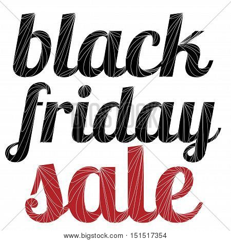 Black Friday Sale Abstract Vector Illustration for your business artwork.