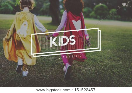 Kids Innocent Adolescence Young Youth Concept
