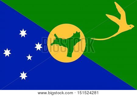 Flag of Christmas Island officially the Territory of Christmas Island is a territory of Australia in the Indian Ocean comprising the island of the same name