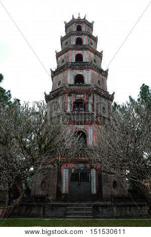 Thien Mu Padoga, Hue Tourism, Vietnam