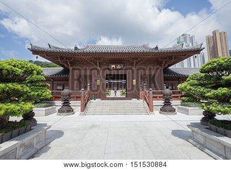 Chi Lin Nunnery, Tang Dynasty Style Temple, Hong Kong