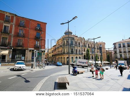 Street In The Center Of Salamanca, Spain
