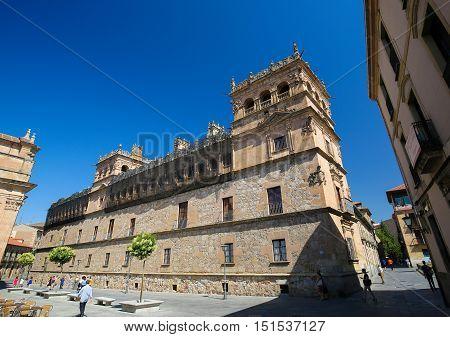 Palacio De Monterrey In Salamanca, Spain