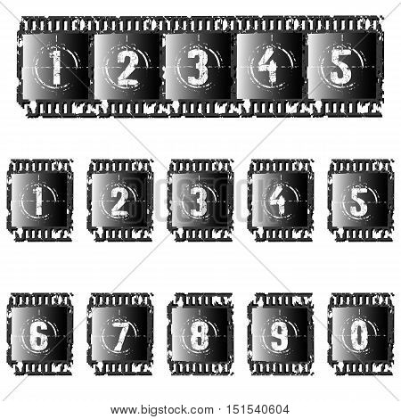 Set Of Photographic Films