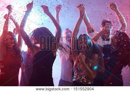 Ecstatic dancers