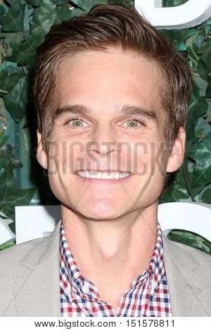 LOS ANGELES - OCT 10:  Greg Rikaart at the CBS Daytime #1 for 30 Years Exhibit Reception at the Paley Center For Media on October 10, 2016 in Beverly Hills, CA