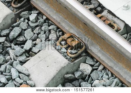 The Construction Of The Railway Line Moscow Central Railroad.