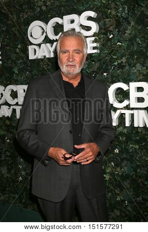 LOS ANGELES - OCT 10:  John McCook at the CBS Daytime #1 for 30 Years Exhibit Reception at the Paley Center For Media on October 10, 2016 in Beverly Hills, CA