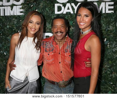 LOS ANGELES - OCT 10:  Reign Edwards, Obba Babatunde, Felisha Cooper at the CBS Daytime #1 for 30 Years Exhibit Reception at the Paley Center For Media on October 10, 2016 in Beverly Hills, CA