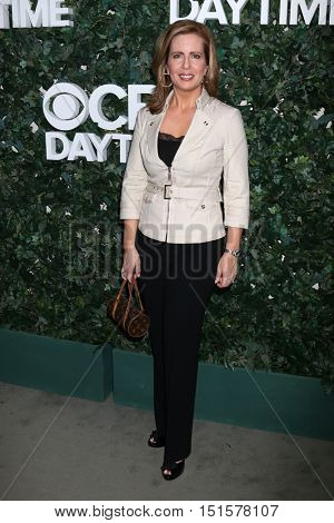 LOS ANGELES - OCT 10:  Martha Byrne at the CBS Daytime #1 for 30 Years Exhibit Reception at the Paley Center For Media on October 10, 2016 in Beverly Hills, CA