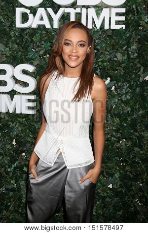 LOS ANGELES - OCT 10:  Reign Edwards at the CBS Daytime #1 for 30 Years Exhibit Reception at the Paley Center For Media on October 10, 2016 in Beverly Hills, CA