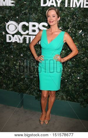 LOS ANGELES - OCT 10:  Jennifer Gareis at the CBS Daytime #1 for 30 Years Exhibit Reception at the Paley Center For Media on October 10, 2016 in Beverly Hills, CA