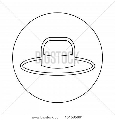an images of Hat Icon Illustration design