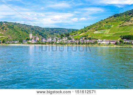 Lorch am Rhein a small town in the Rheingau-Taunus-Kreis in Germany. It belongs to the Rhine Gorge World Heritage Site.