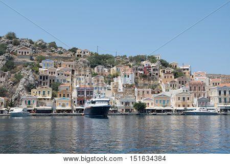 The beautiful little island of Symi / Simi, Greece