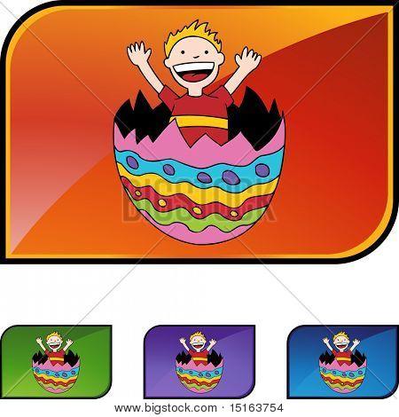 Easter Egg Kid