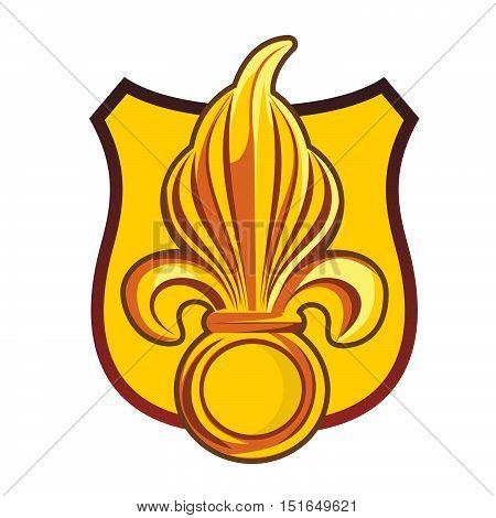 Heraldic Symbol Fleur-de-lis